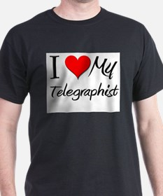 I Heart My Telegraphist T-Shirt