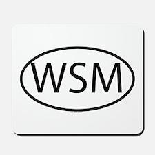 WSM Mousepad