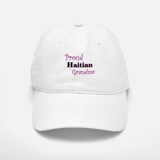 Proud Haitian Grandma Baseball Baseball Cap