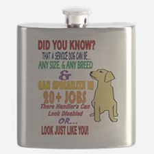 did you know service dog education Flask