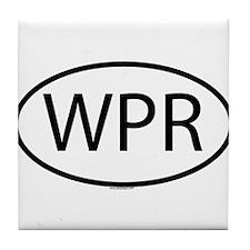 WPR Tile Coaster