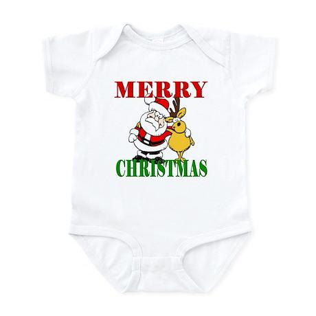 Merry Chirstmas Infant Bodysuit