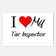 I Heart My Tax Inspector Postcards (Package of 8)
