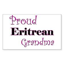Proud Eritrean Grandma Rectangle Decal
