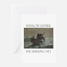 Herring Net Greeting Cards (Pk of 10)