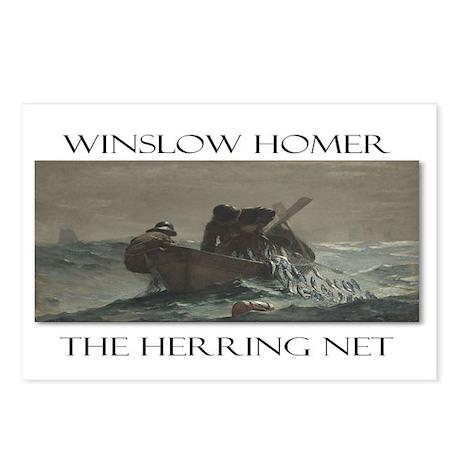 Herring Net Postcards (Package of 8)