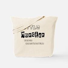 Little Monster Under Construction Tote Bag