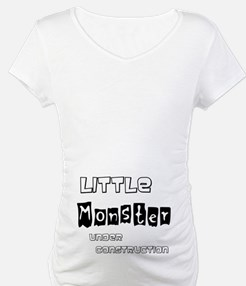 Little Monster Under Construction Maternity Tee