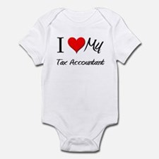 I Heart My Tax Accountant Infant Bodysuit