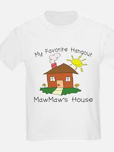 Favorite Hangout MawMaw's Hou T-Shirt