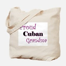 Proud Cuban Grandma Tote Bag