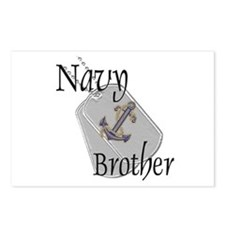 Anchor Navy Brother Postcards (Package of 8)