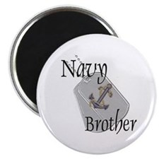 """Anchor Navy Brother 2.25"""" Magnet (10 pack)"""