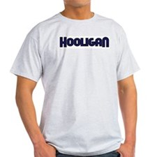 Hooligan -  Ash Grey T-Shirt