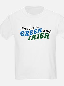 Proud Greek and Irish T-Shirt