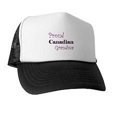 Proud Canadian Grandma Trucker Hat