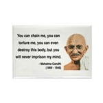 Gandhi 6 Rectangle Magnet (100 pack)