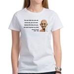 Gandhi 6 Women's T-Shirt