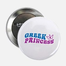 "Greek Princess 2.25"" Button"