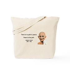 Gandhi 8 Tote Bag