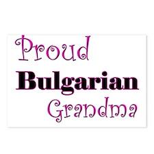 Proud Bulgarian Grandma Postcards (Package of 8)