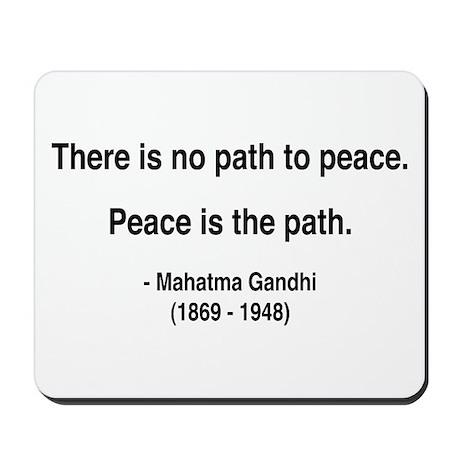 Gandhi 8 Mousepad
