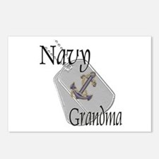 Anchor Navy Grandma Postcards (Package of 8)