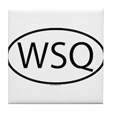WSQ Tile Coaster