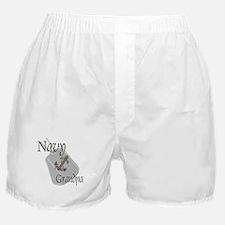 Anchor Navy Grandpa Boxer Shorts