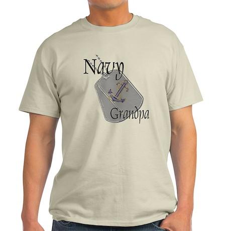 Anchor Navy Grandpa Light T-Shirt