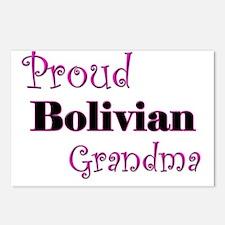 Proud Bolivian Grandma Postcards (Package of 8)