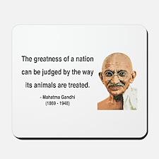 Gandhi 10 Mousepad
