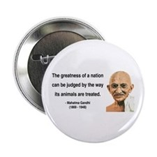 "Gandhi 10 2.25"" Button"