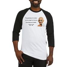 Gandhi 10 Baseball Jersey