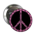 "Peace Sign (pb) 2.25"" Button"