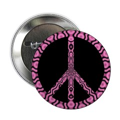 "Peace Sign (pb) 2.25"" Button (100 pack)"