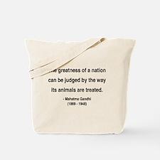 Gandhi 10 Tote Bag
