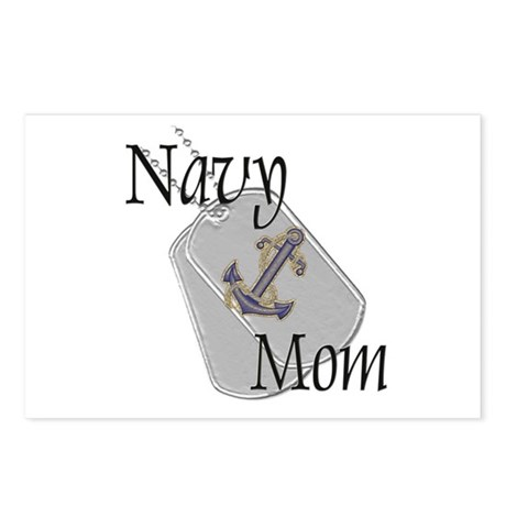 Anchor Navy Mom Postcards (Package of 8)