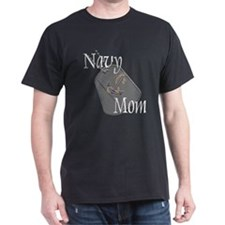 Anchor Navy Mom T-Shirt