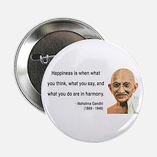 """Gandhi 11 2.25"""" Button"""
