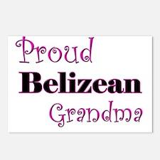Proud Belizean Grandma Postcards (Package of 8)