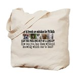 Doggie Line-up Tote Bag