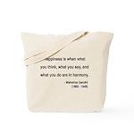 Gandhi 11 Tote Bag