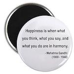 """Gandhi 11 2.25"""" Magnet (100 pack)"""