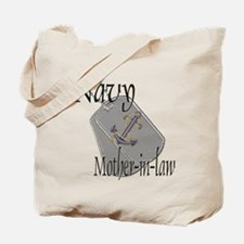 Anchor Navy Mother-in-law Tote Bag