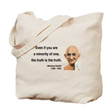 Gandhi 12 Tote Bag