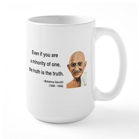 Gandhi 12 Large Mug