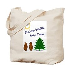 Cute Twins Tote Bag