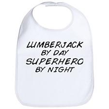 Lumberjack Superhero Bib