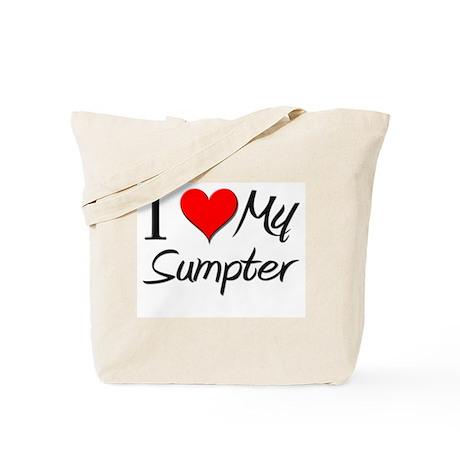 I Heart My Sumpter Tote Bag